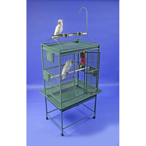 "A&E Cage Co. 32""x23"" Refuge Play Top Bird Cage"