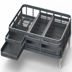 "A&E Cage Co. 85""x61"" Walk-In Aviary Base"