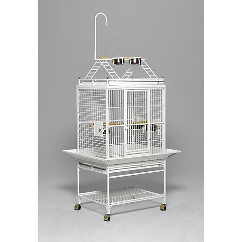 Avian Adventures Chiquita Playtop Bird Cage Pearl White