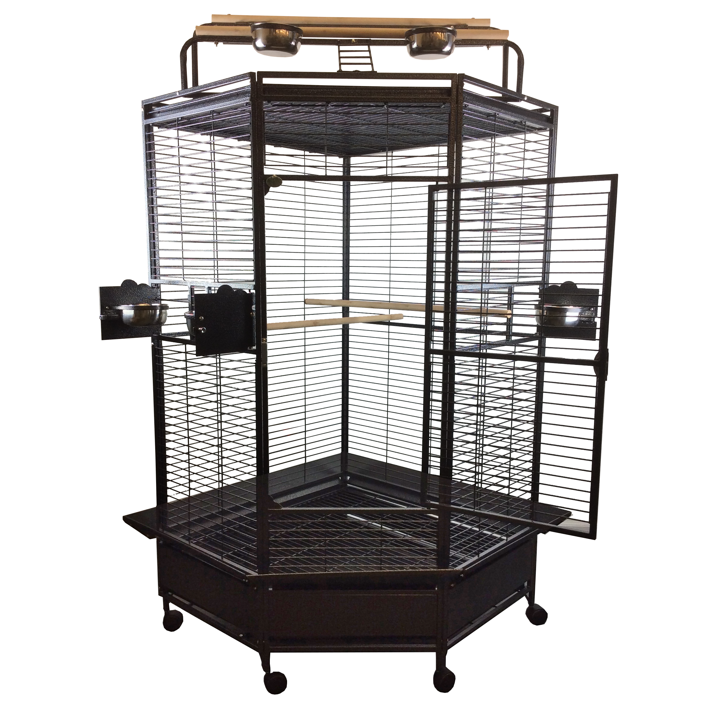 "A&E Cage Co. 32"" Large Corner Cage"