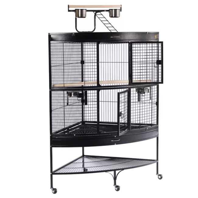 Prevue Hendryx Large Bird Cage with Storage Shelf