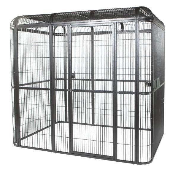 "A&E Cage Co. 62""x62""x79"" Walk In Aviary"