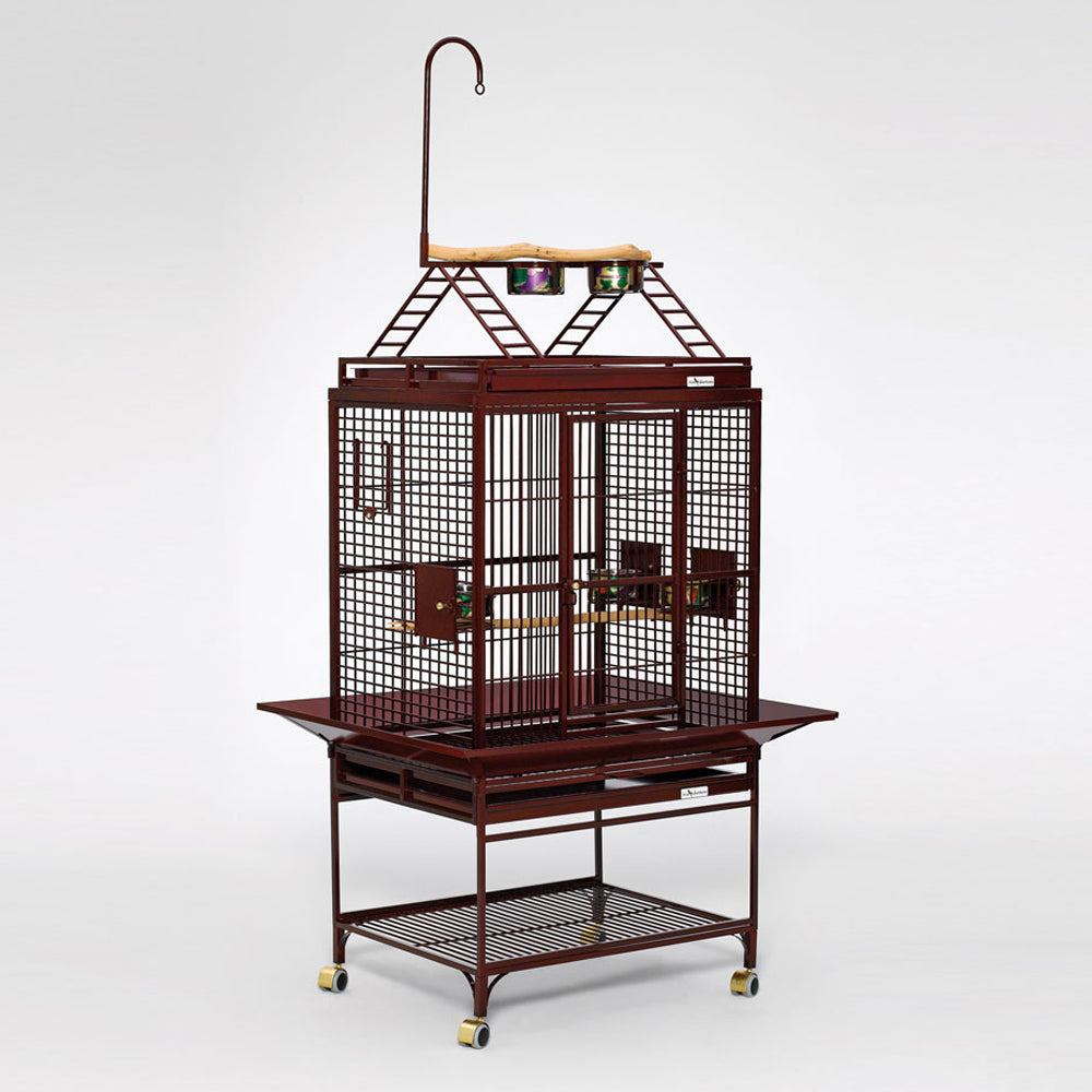 Avian Adventures Chiquita Playtop Bird Cage Ruby Red