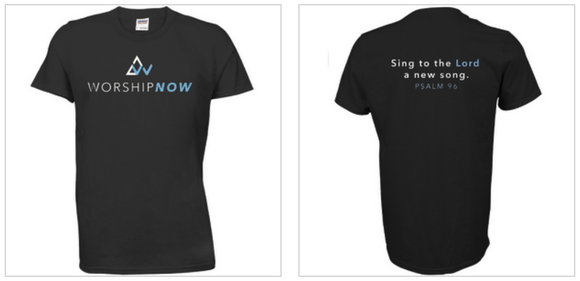 WorshipNOW Sing to the Lord a New Song T-Shirt
