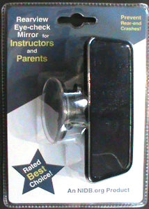 Mirror-Instructor's Rear View Mirror or Student Eye Check $12.00