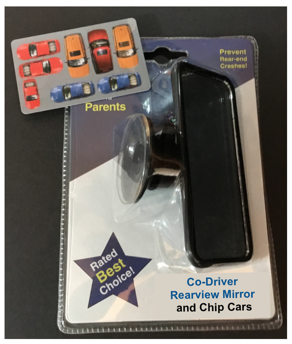 Co-Driver Rearview Mirror and Chip Car Sets