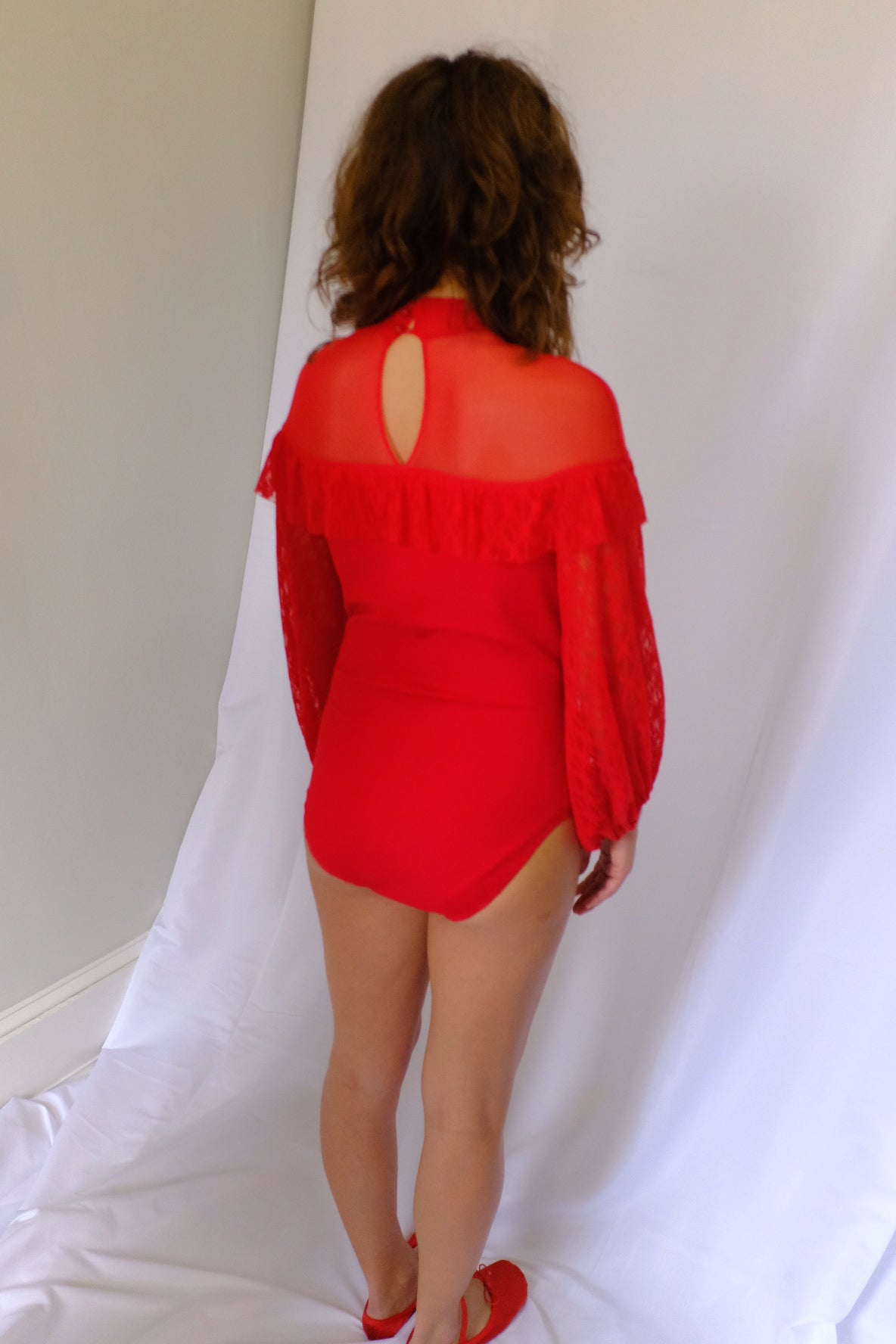 PRE ORDER Gilda Red Lace Bodysuit