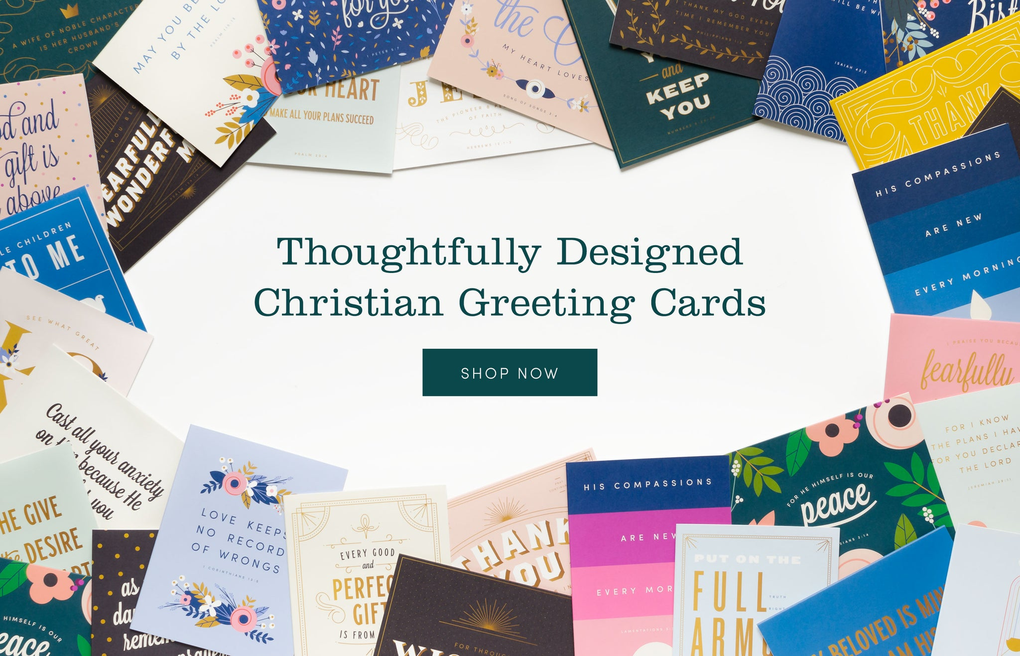 Christian Greeting Cards from Evermorn Supply