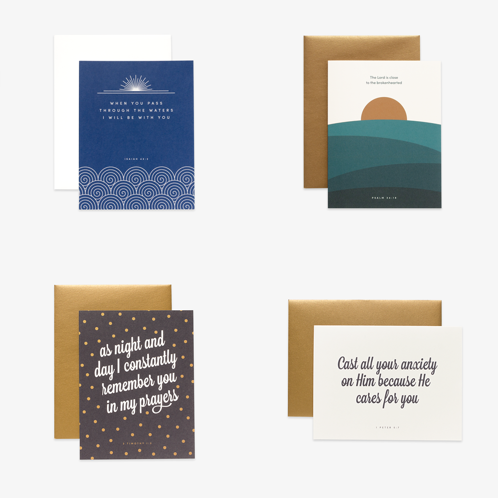 Encouragement Minimal, Assorted Card Set