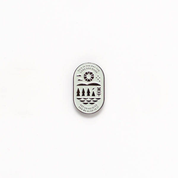 This Is the Day, Mint Enamel Pin