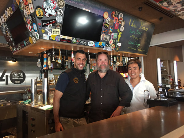 Evolution Culinary Craft Beer goes International - Now Distributing on Tokyo, Japan