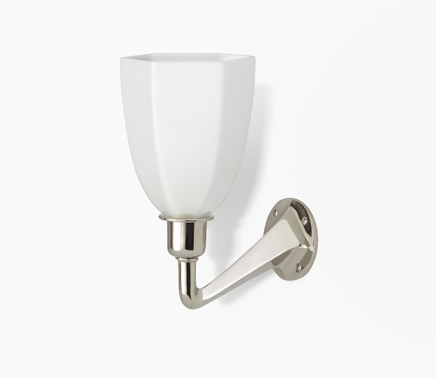 Leila Wall Light with Glass Shade Product Image 1