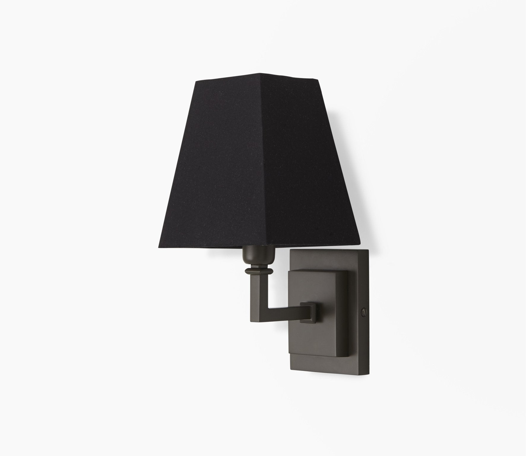 Parker Wall Light with Pyramid Shade Product Image 3