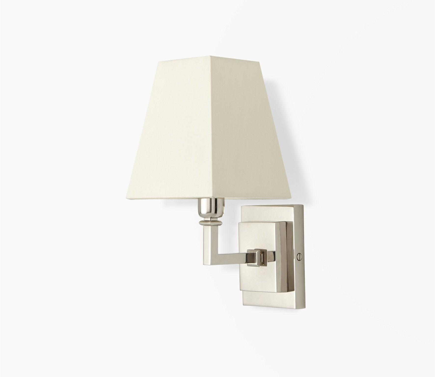 Parker Wall Light with Pyramid Shade Product Image 2