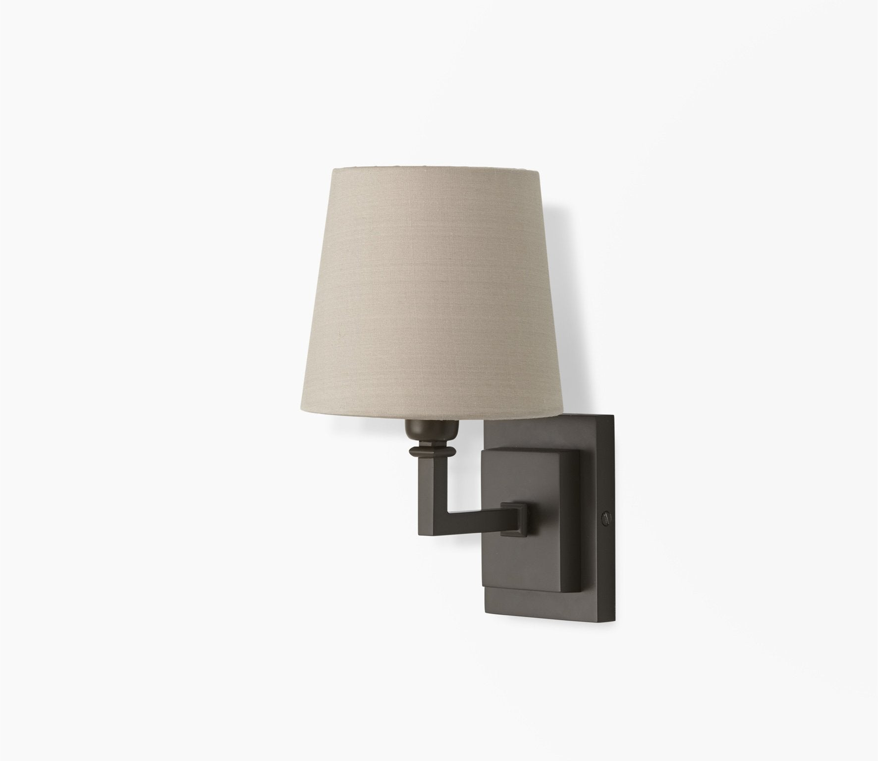 Parker Wall Light with Drum Shade Product Image 1