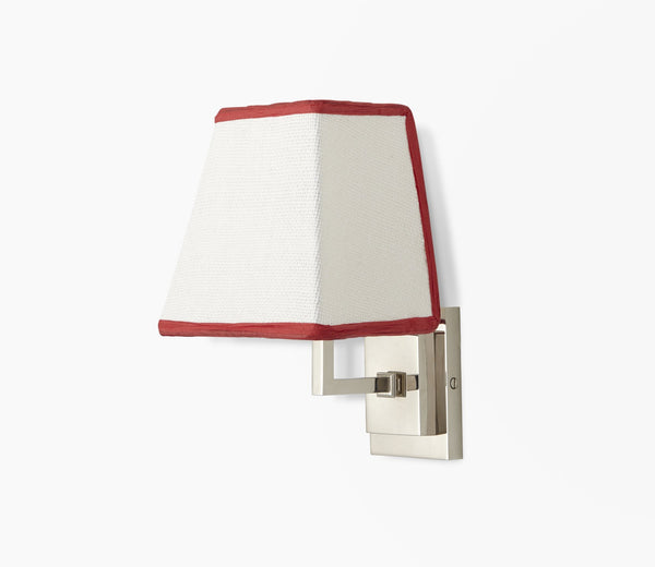 parker wall light with tapezoid shade master