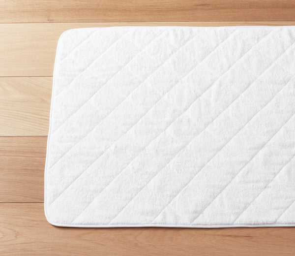 Cairo Bath Mat White