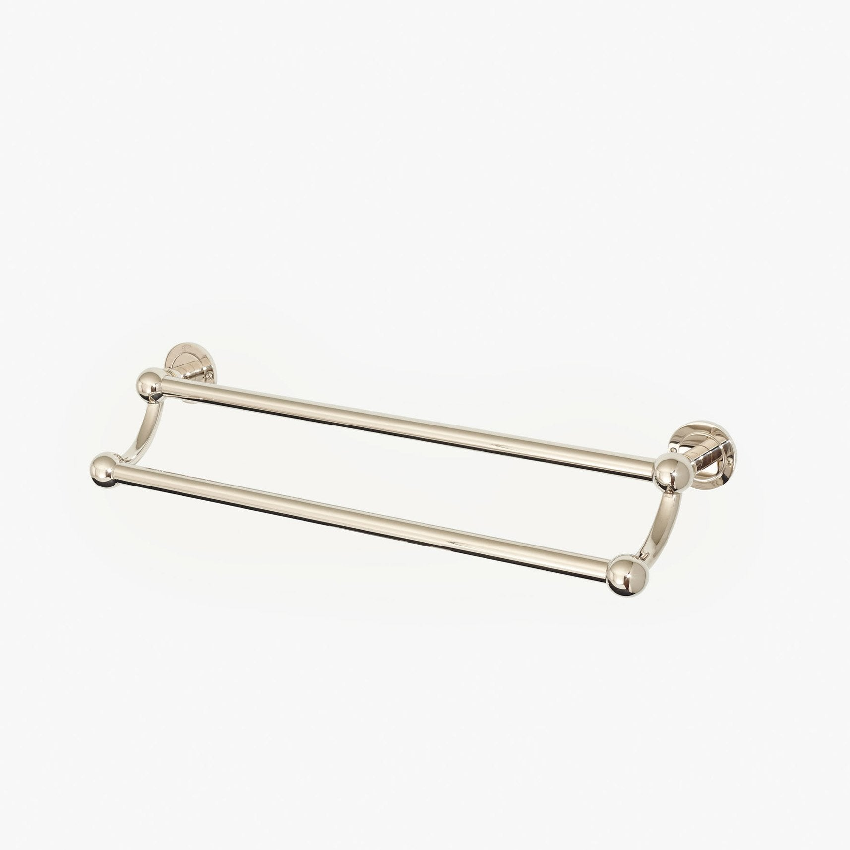 Moderna Double Towel Rail Product Image 1