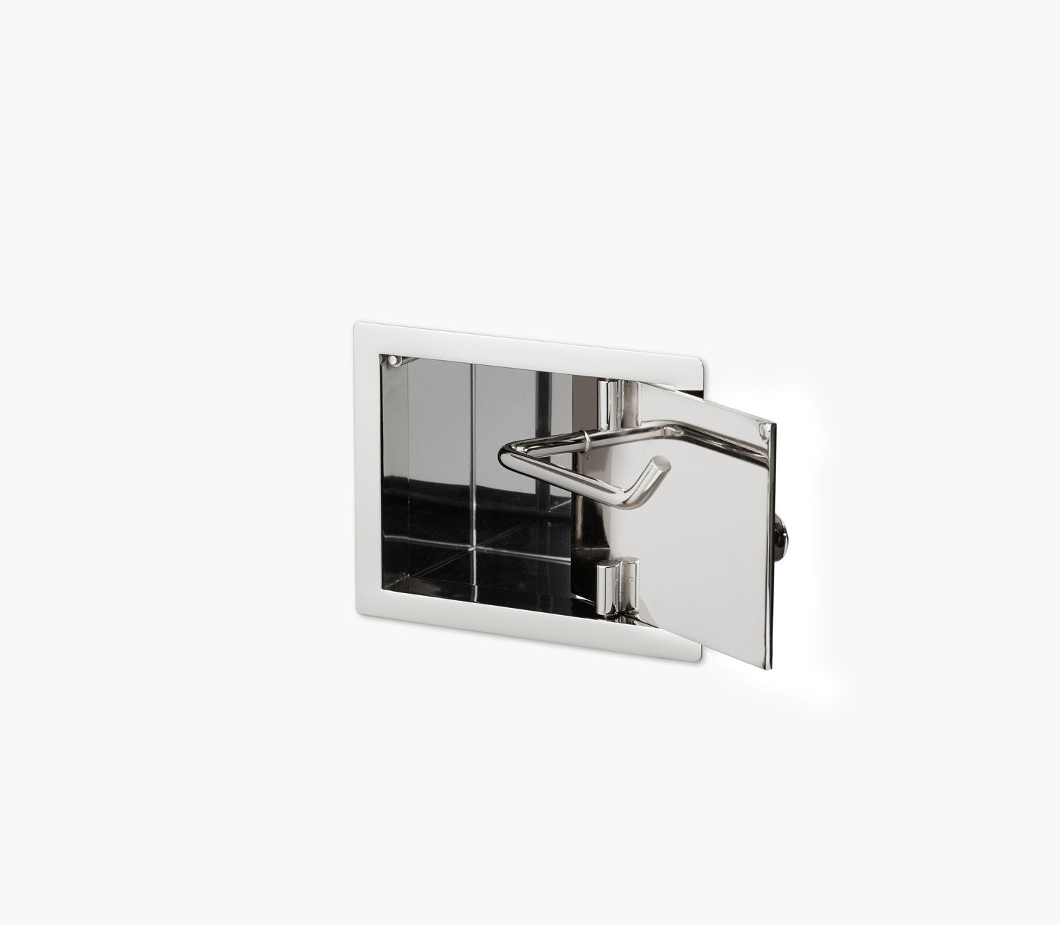 Wall Recessed Toilet Paper Holder II Product Image 3
