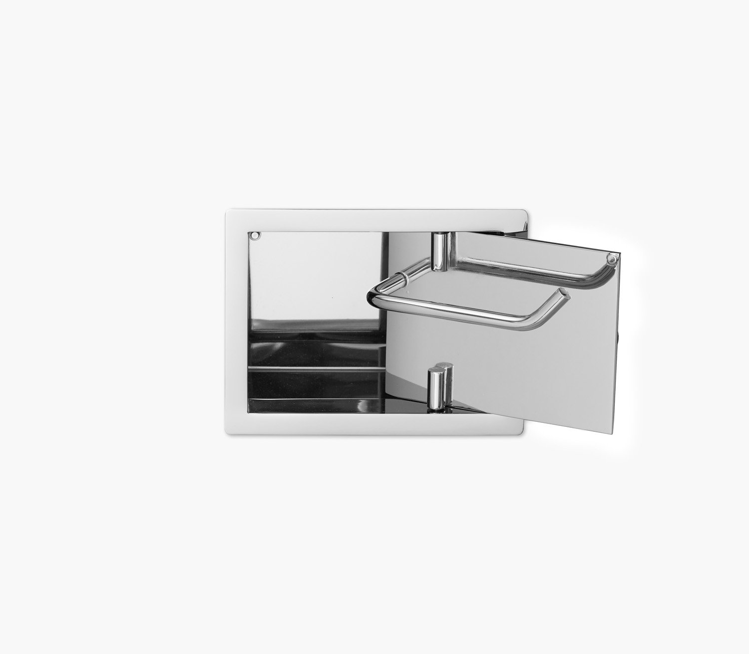 Wall Recessed Toilet Paper Holder II Product Image 5