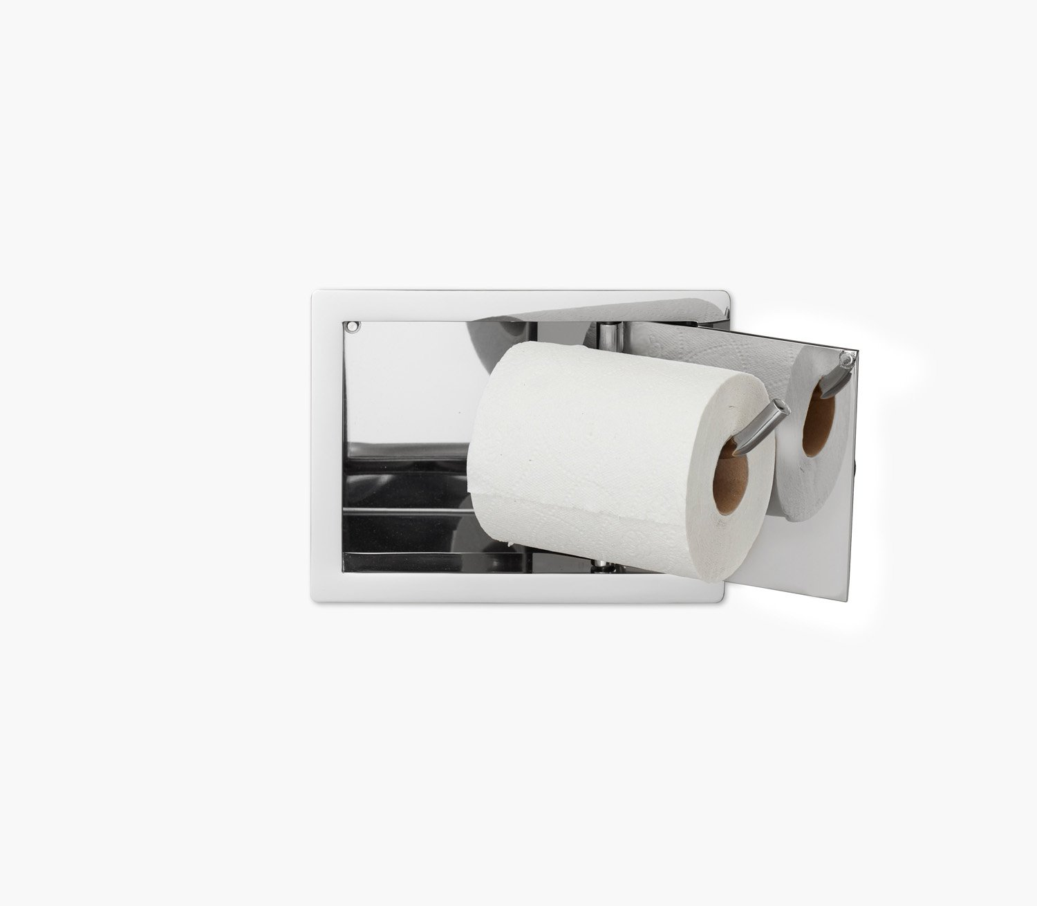 Wall Recessed Toilet Paper Holder II Product Image 6
