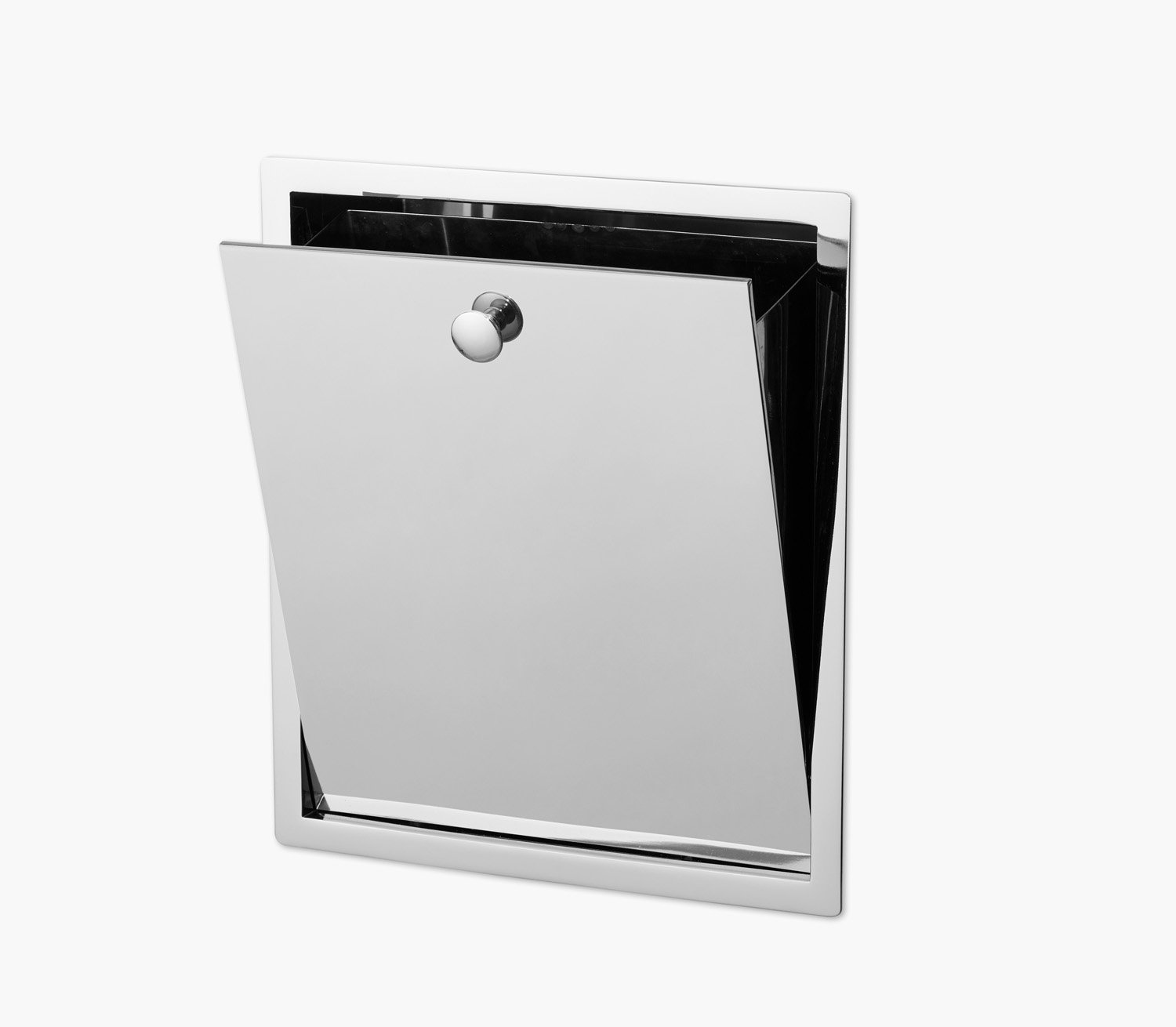 Wall Recessed Waste Bin Product Image 2