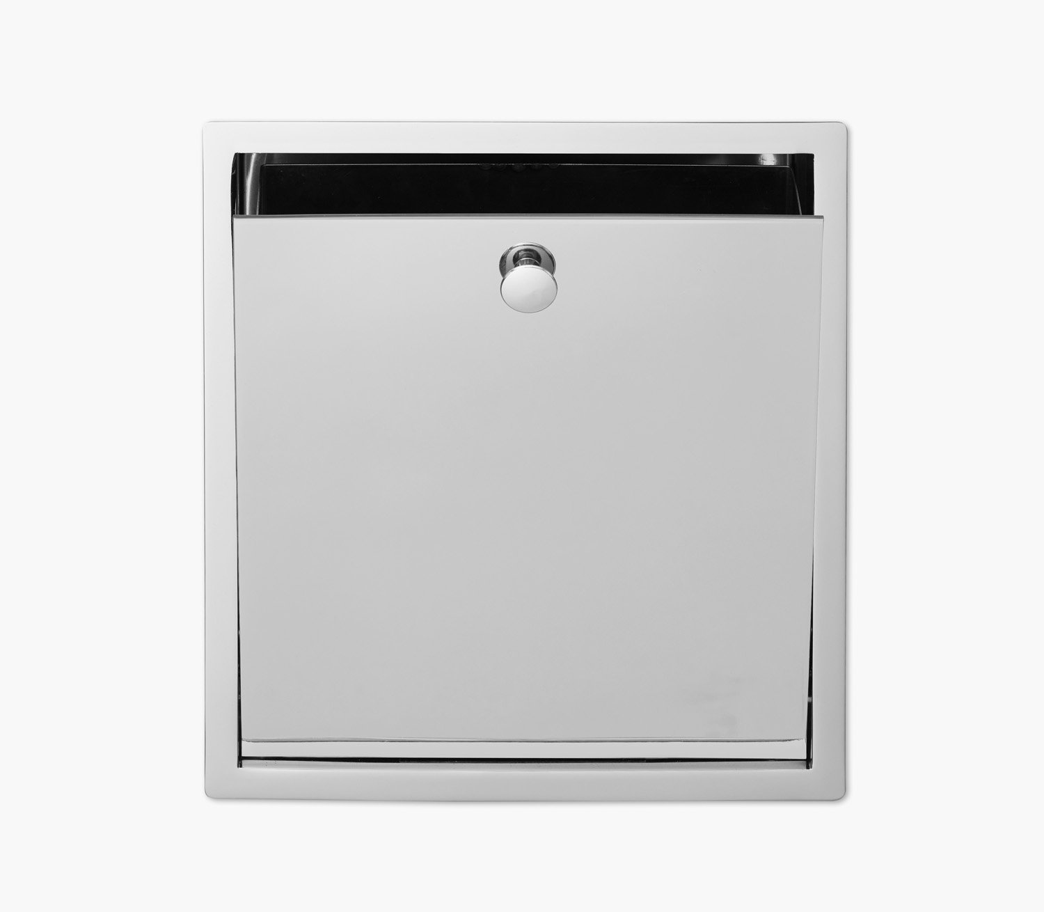 Wall Recessed Waste Bin Product Image 4