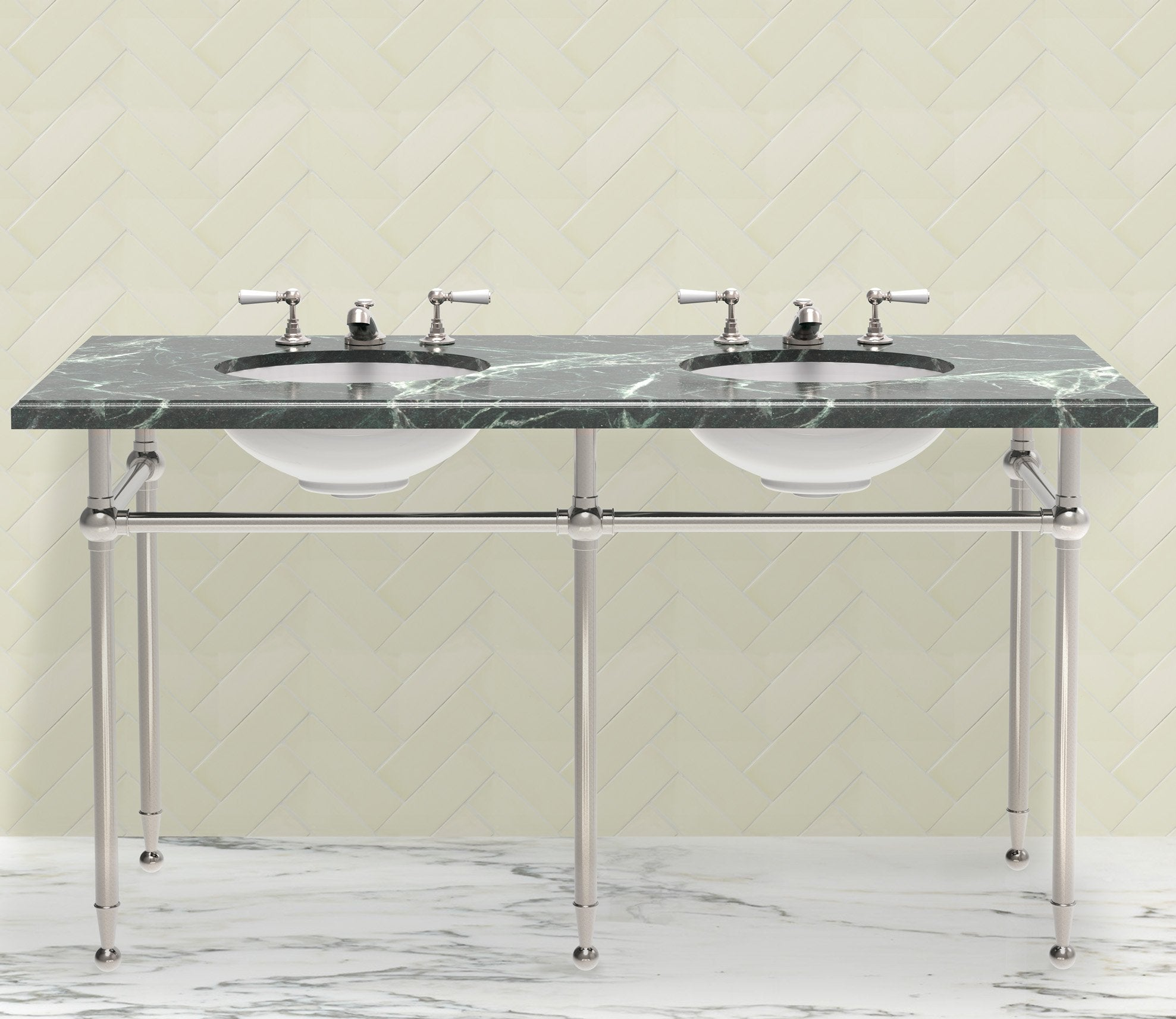 Hanbury Washstand Double 5-Leg Product Image 2