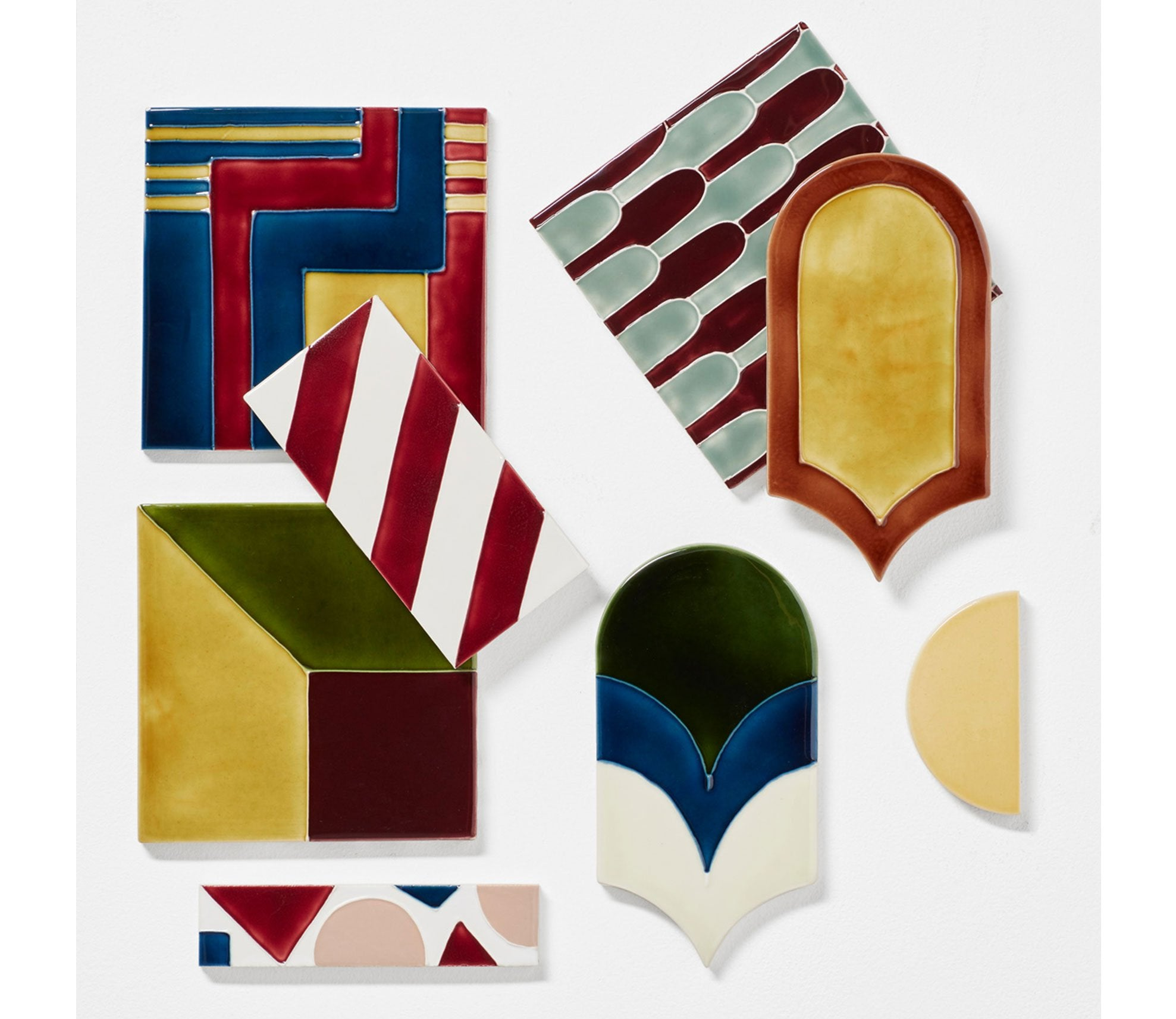 Hanley Tube Lined Decorative Tiles Product Image 1