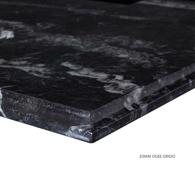 Marble Top Single Grigio Product Image 3