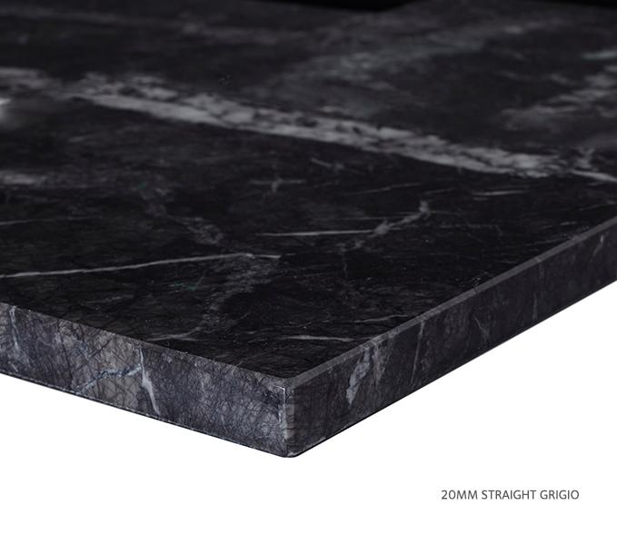 Marble Top Extra Wide Single Grigio Product Image 5