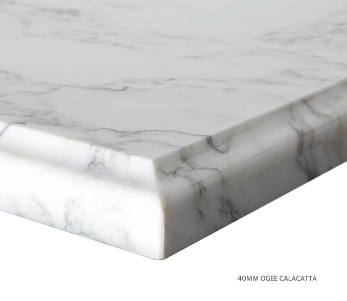 Marble Top Extra Wide Single Calacatta Product Image 6