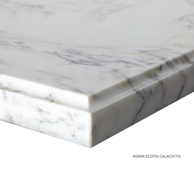 Marble Top Extra Wide Single Calacatta Product Image 7