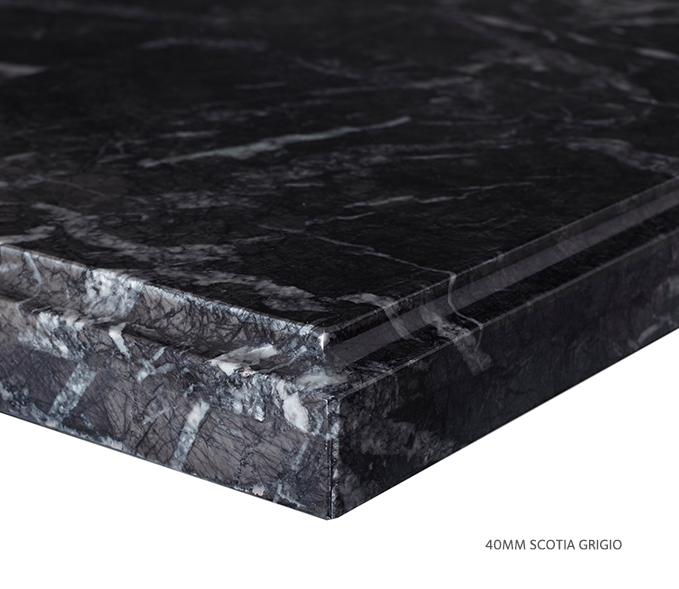 Marble Top Extra Wide Single Grigio Product Image 7