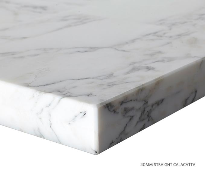 Marble Top Extra Wide Single Calacatta Product Image 8