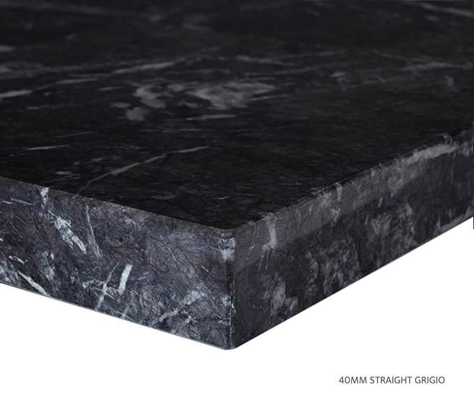 Marble Top Extra Wide Single Grigio Product Image 8