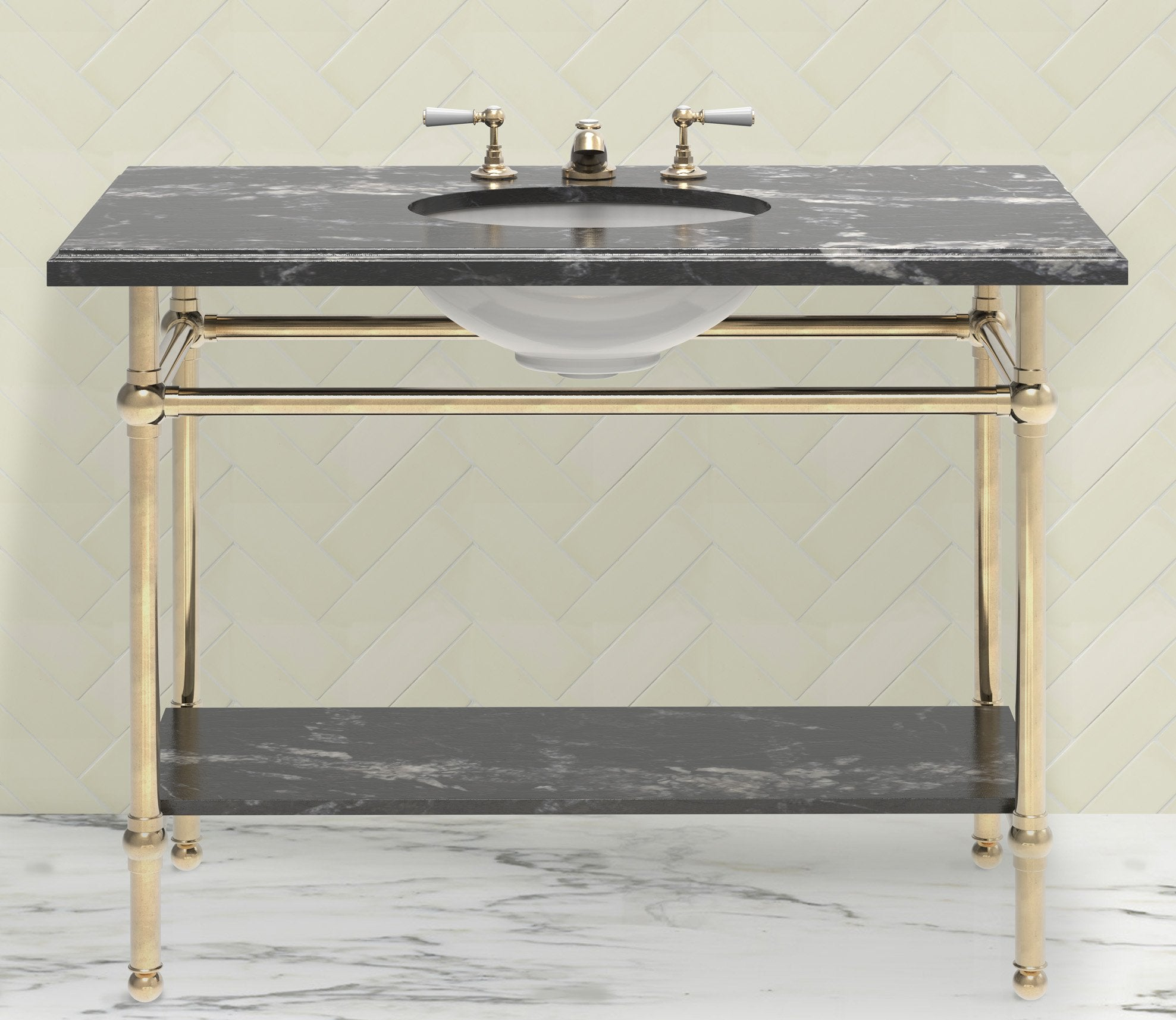 Gotham Washstand Extra Wide Single Product Image 1