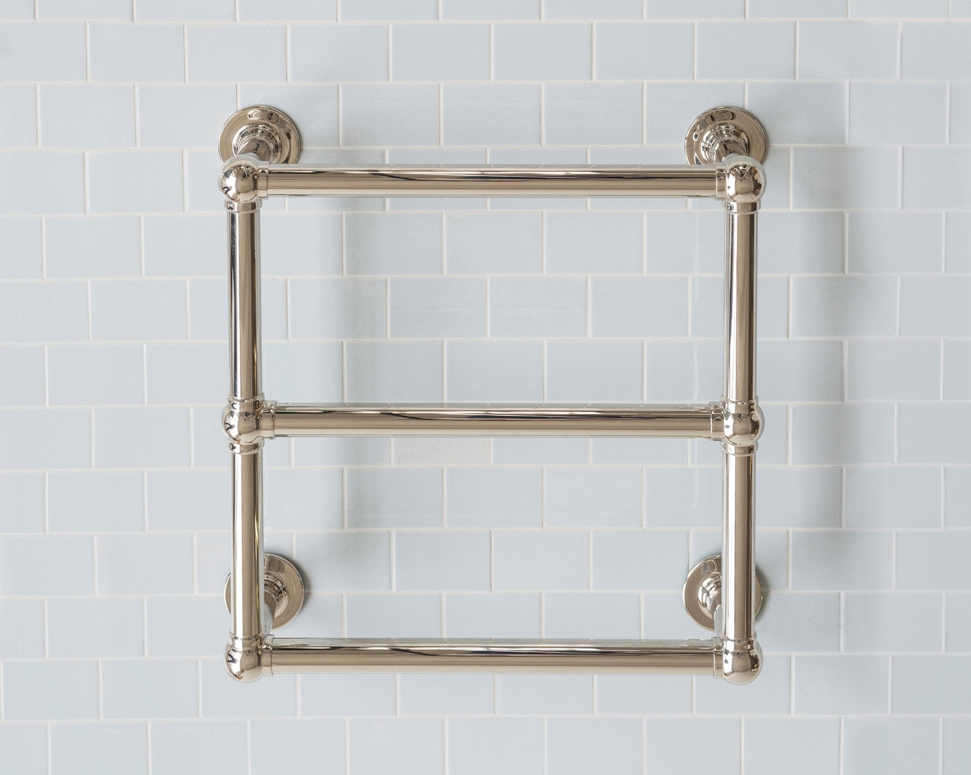 Classic Towel Warmer 3 Bar Wall Small Product Image 1