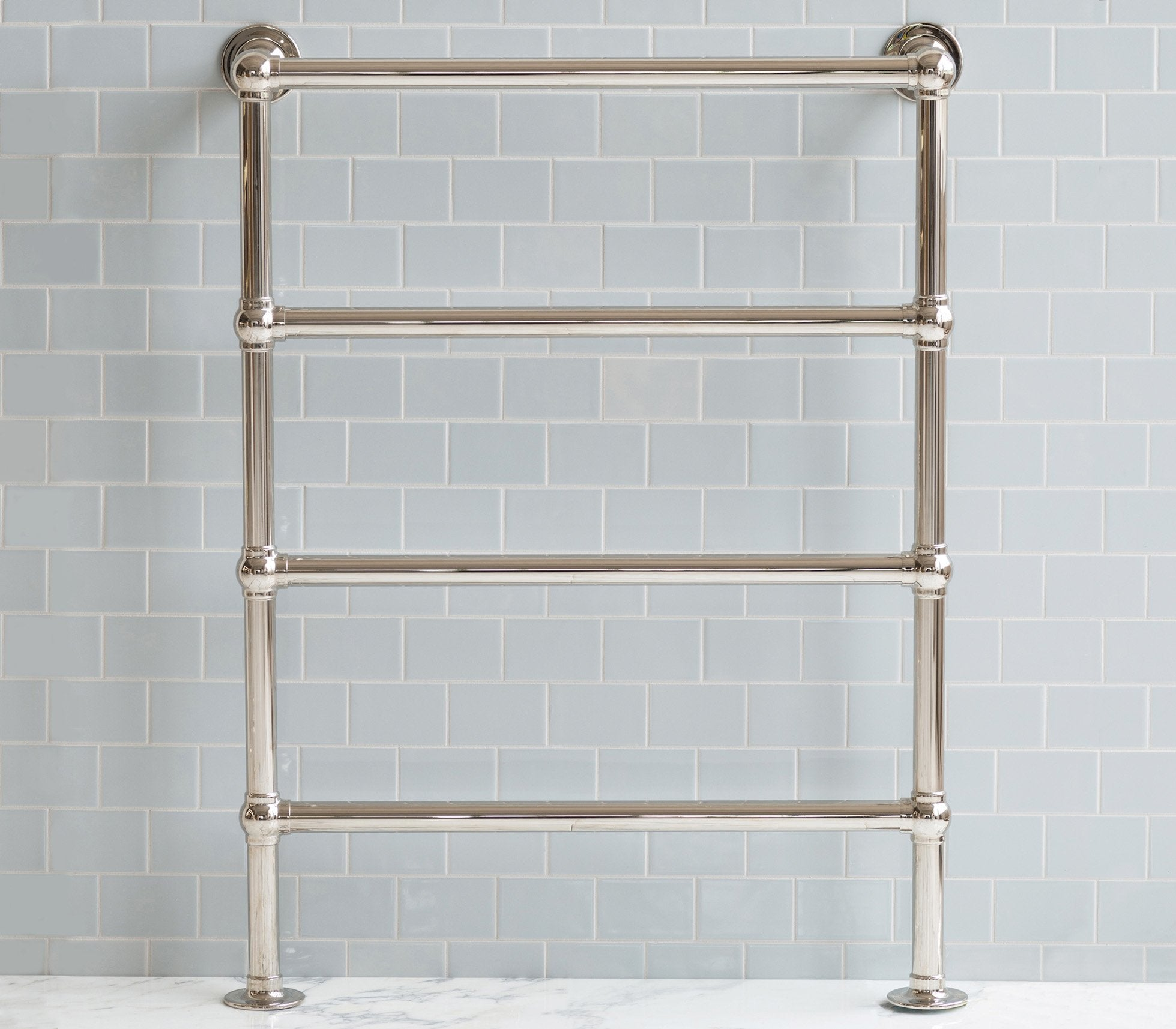 Classic Towel Warmer 4 Bar Floor-to-Wall Product Image 2