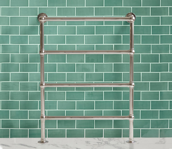 Classic Towel Warmer 4 Bar Floor-to-Wall