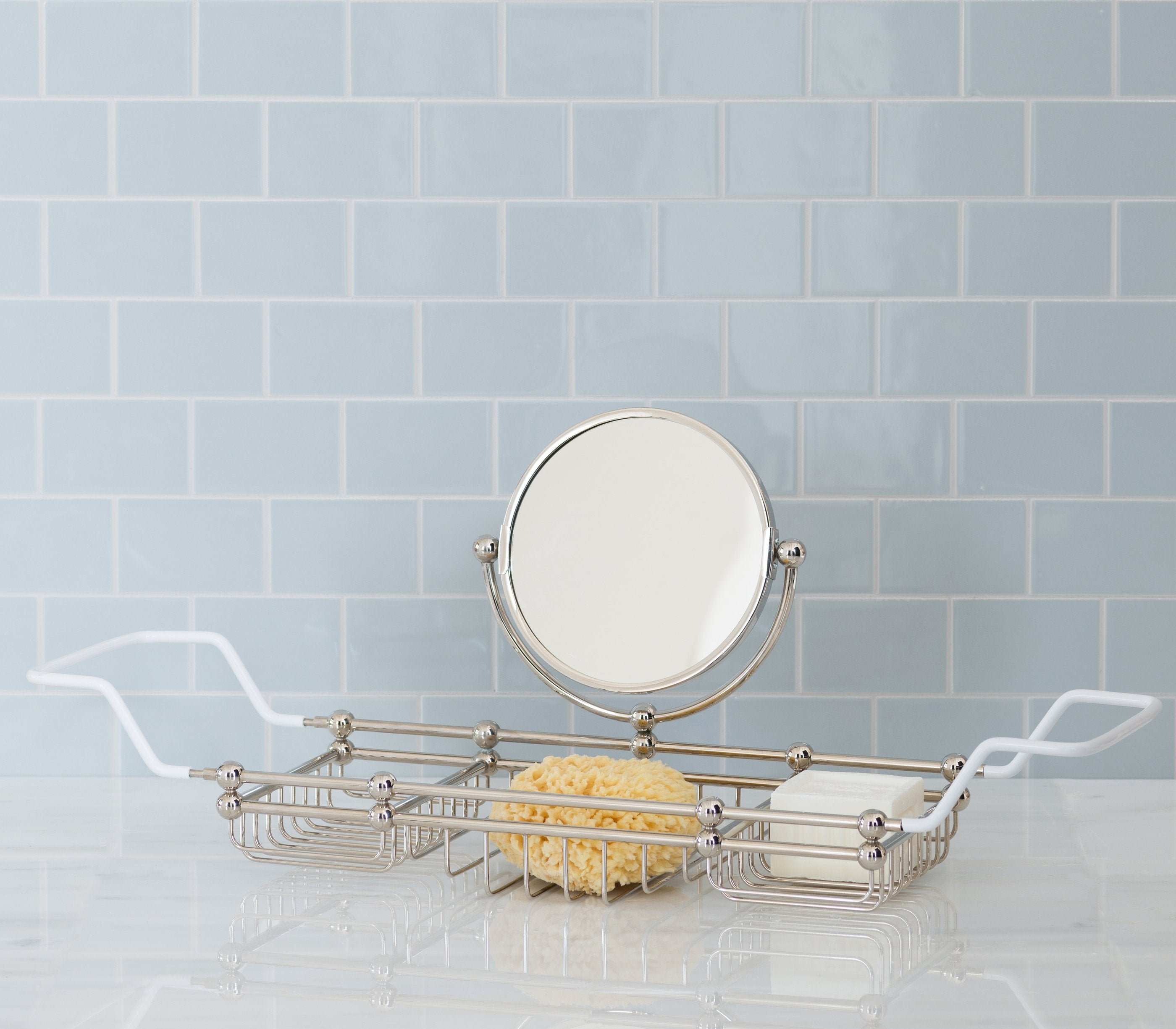 Bath Rack with Mirror Product Image 1