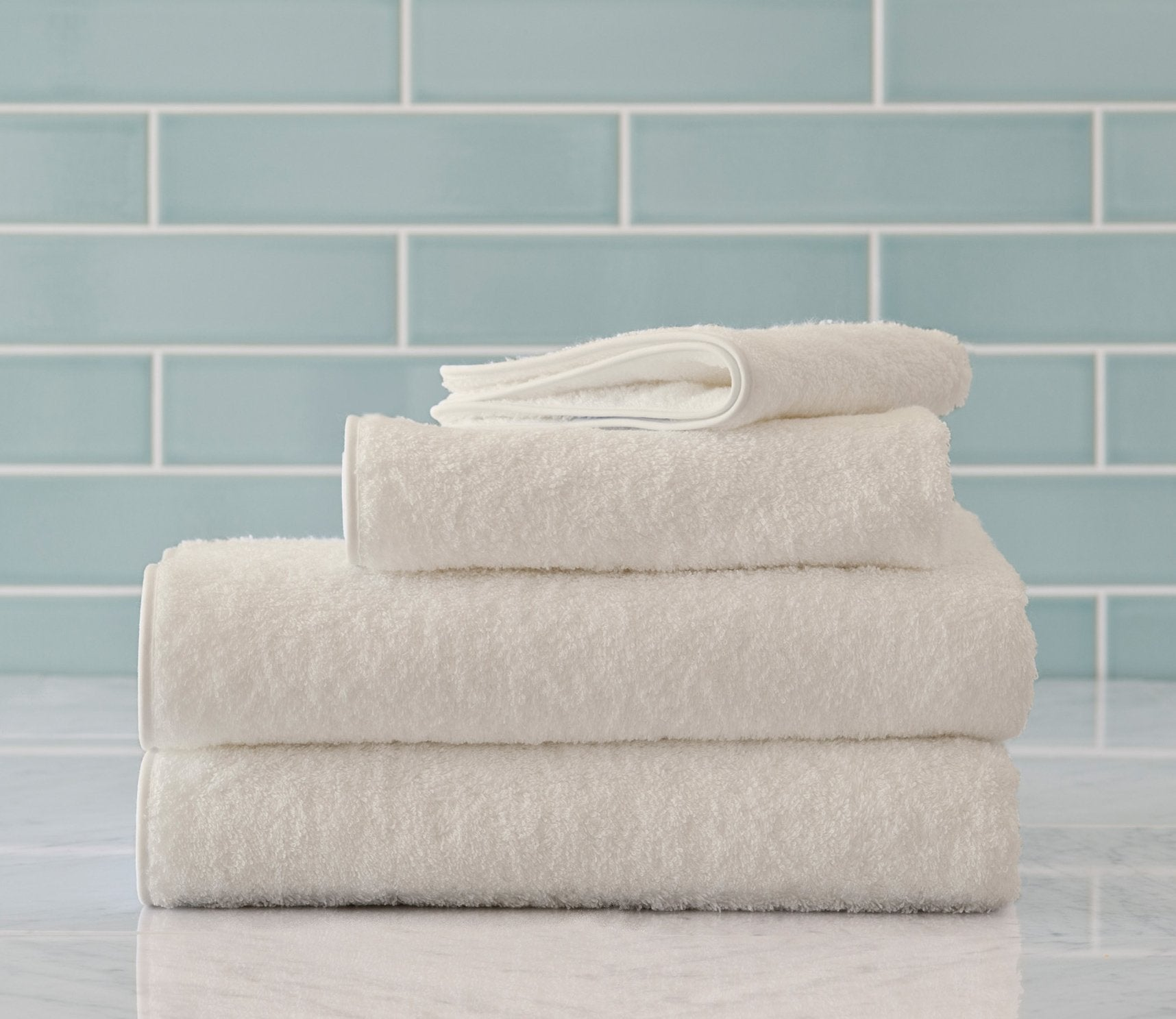 Cairo Bath Towels Ivory Product Image 1