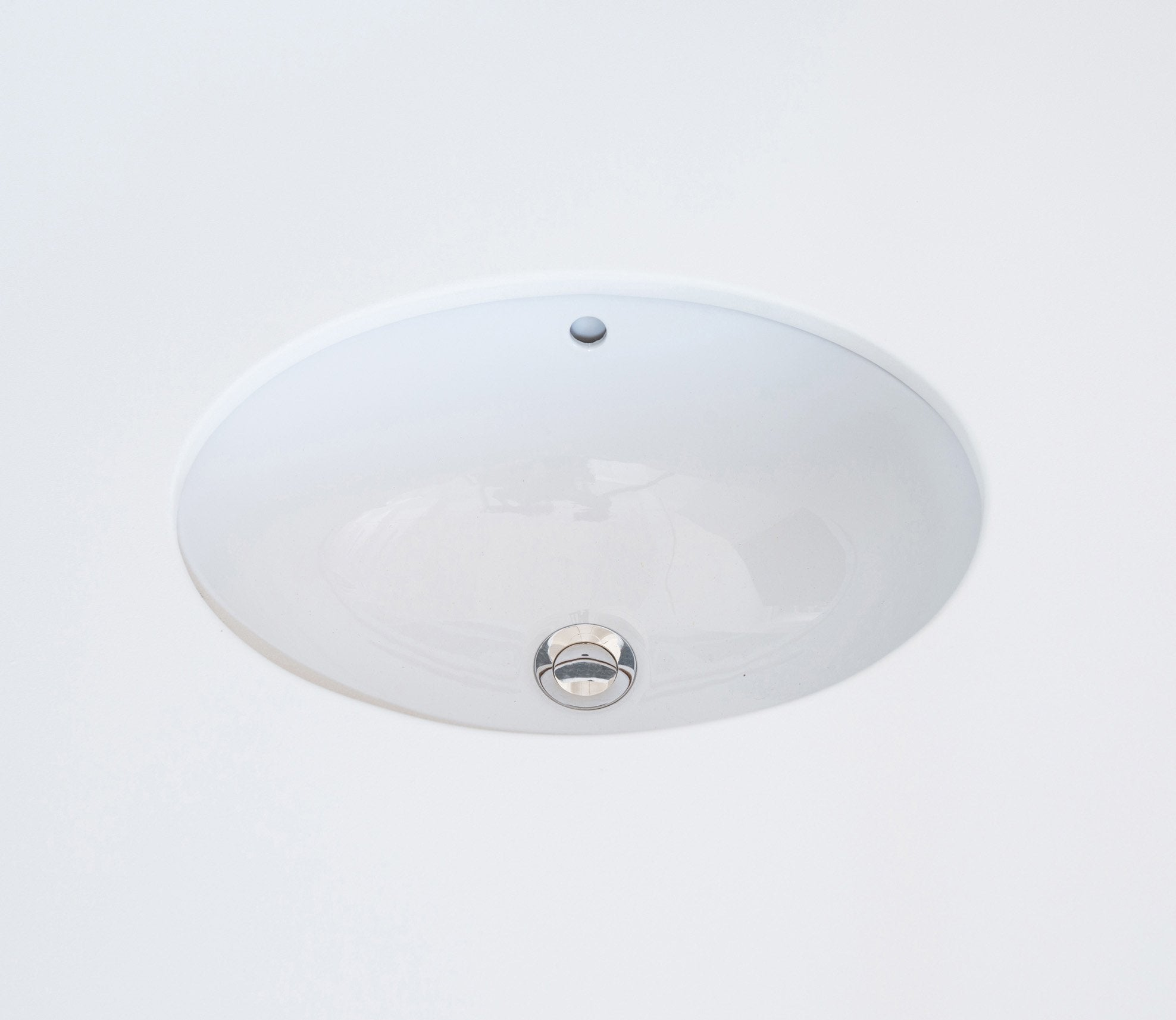 Ceramic Undermount Basin Oval 42 cm Product Image 1