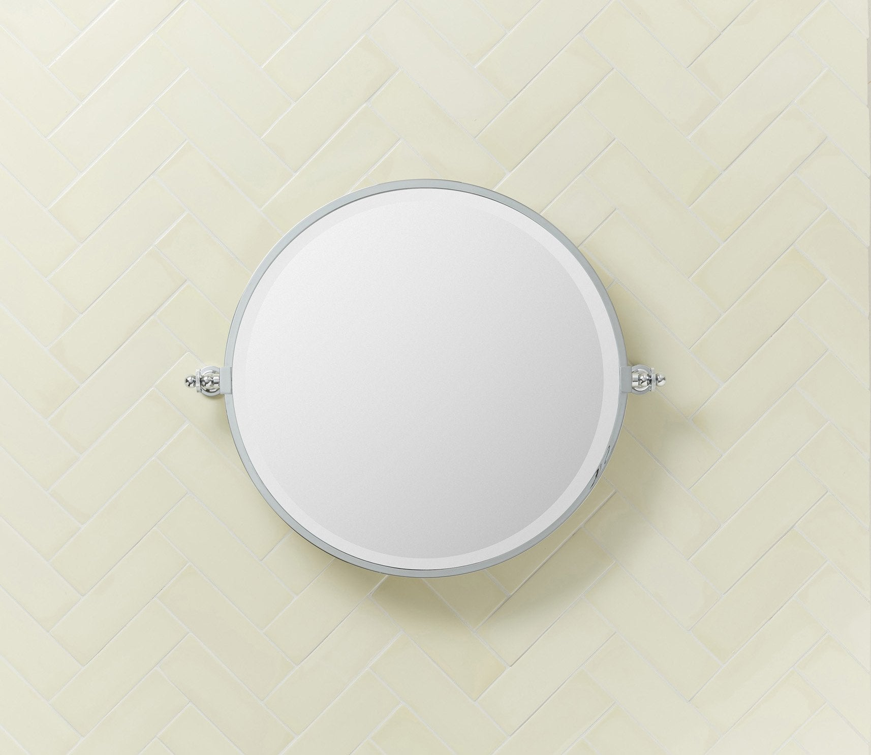 Hanbury Round Mirror Product Image 2