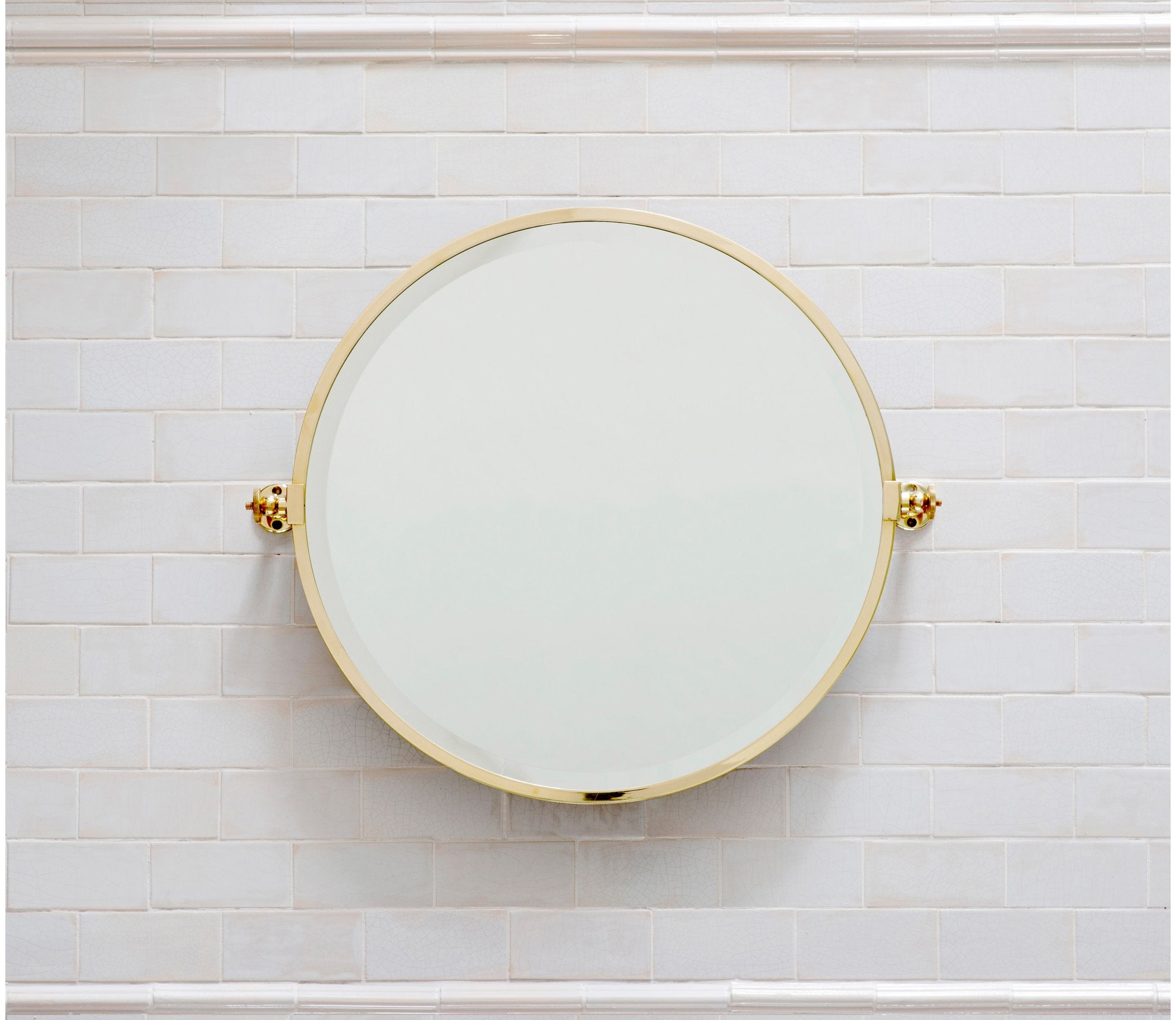 Hanbury Round Mirror Product Image 1