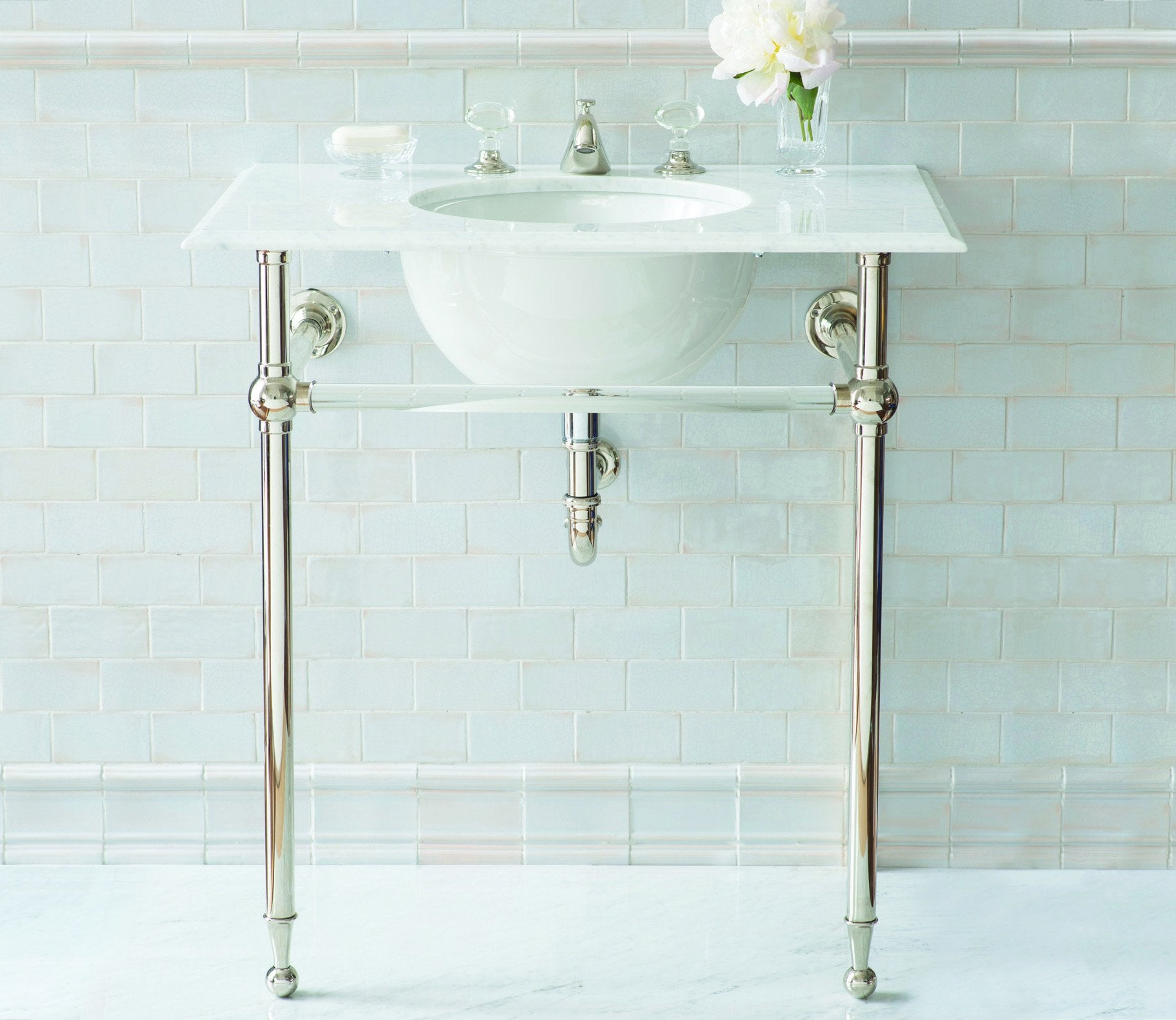 Hanbury Washstand Single 2-Leg Product Image 1