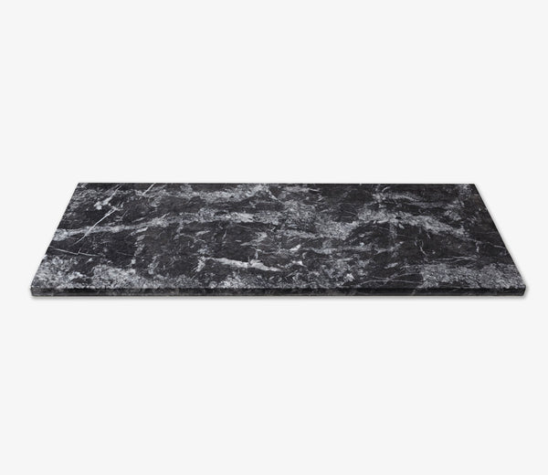 Marble Shelf Double Grigio
