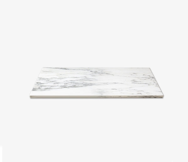 Marble Shelf Extra Wide Single Calacatta