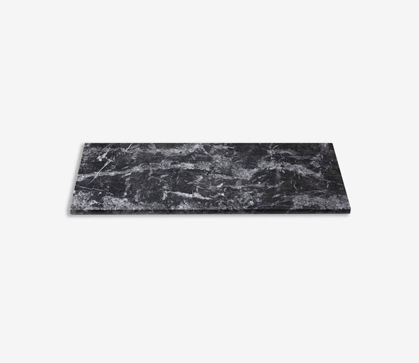 Marble Shelf Extra Wide Single Grigio