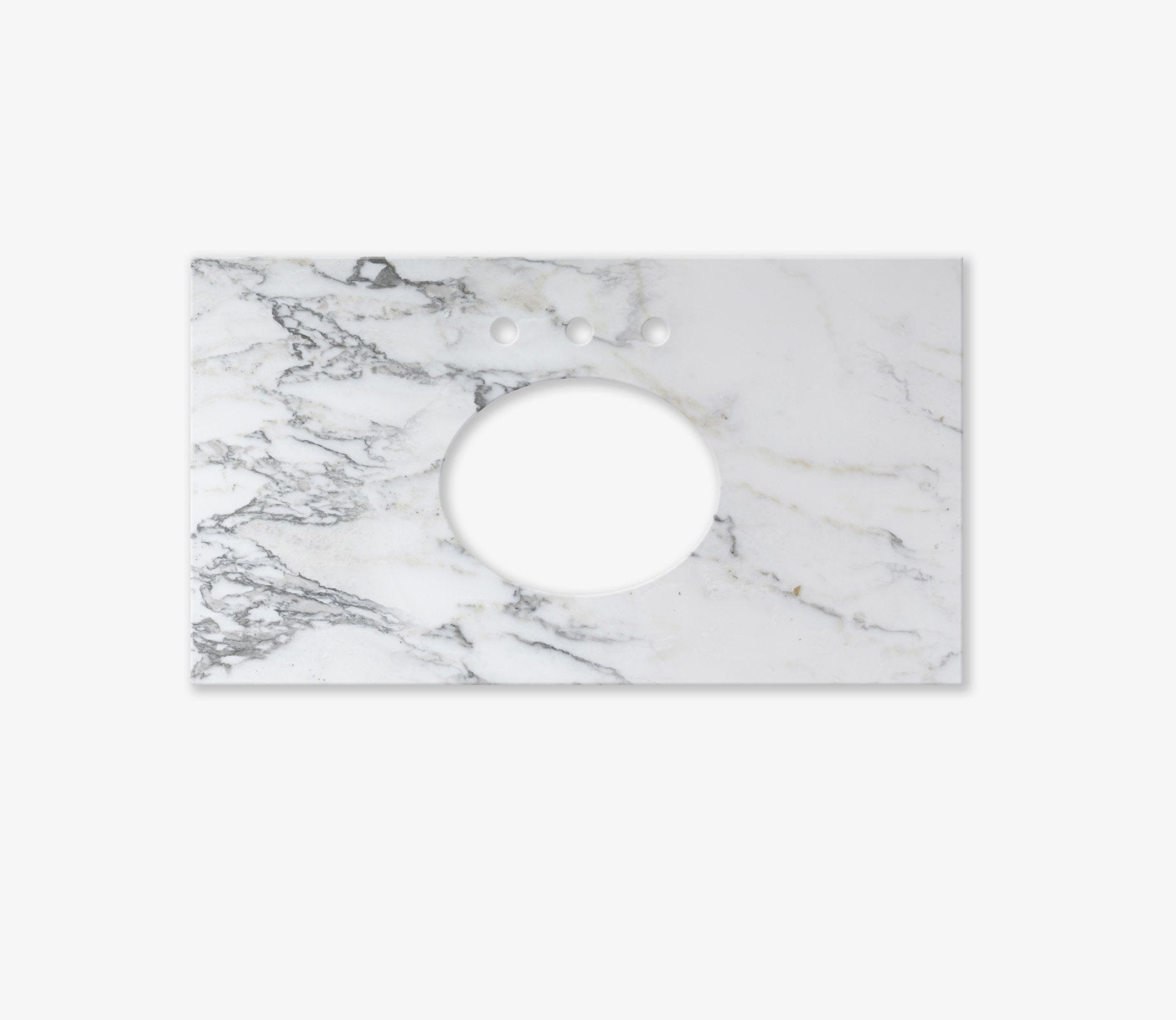 Marble Top Extra Wide Single Calacatta Product Image 2